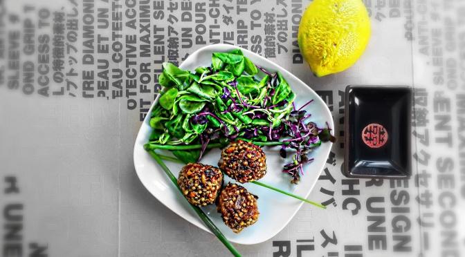 Gesund, vegan und lecker: Pikante Buchweizen-Bällchen!