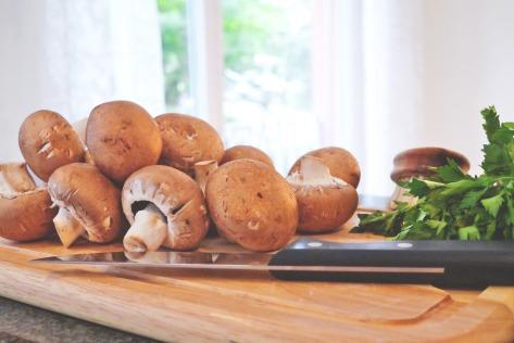 vegan-rezept-kochen-foodblog pilz pasta champignon einfach vegan
