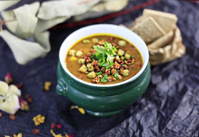 Comfort-Food: Cremige Kürbissuppe!