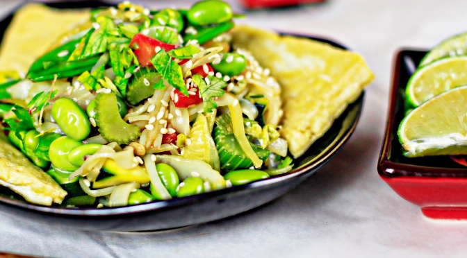 Veganes Pad Thai!