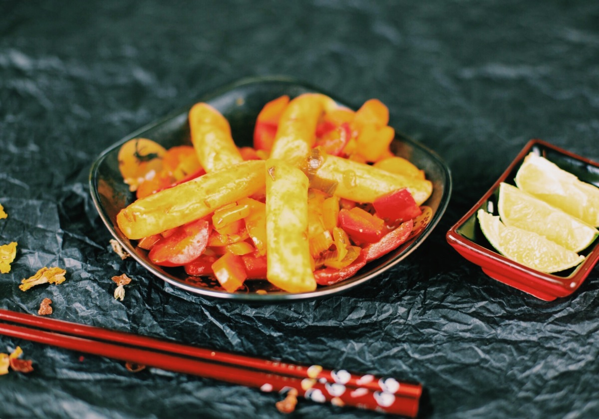 Koreanische Rice Cakes!