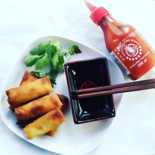 mini frühlingsrollen vegan-spring-rolls-test-foodblog-rollen-fruehlingsrollen