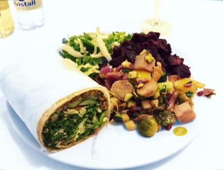Veganer Wrap! Yummy!