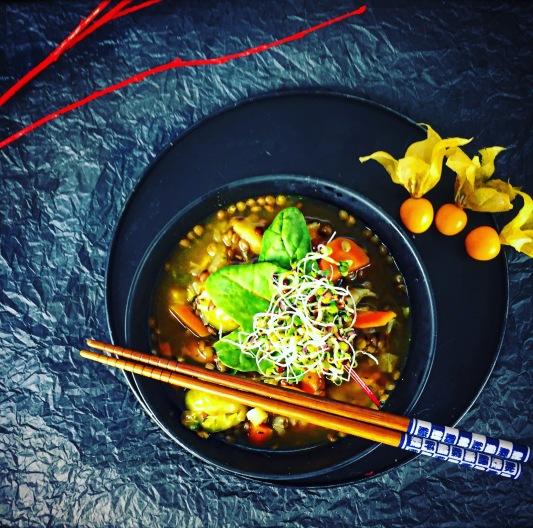 rezept-linsensuppe-vegan-einfach-selber-machen vegane Linsensuppe Rezept kochen