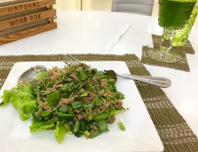 vegan in thailand bangkok restaurant