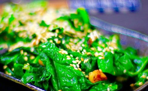frischer spinat rezept vegan kochen