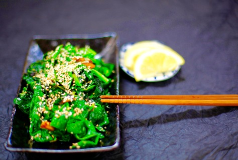 spinat vegan rezept