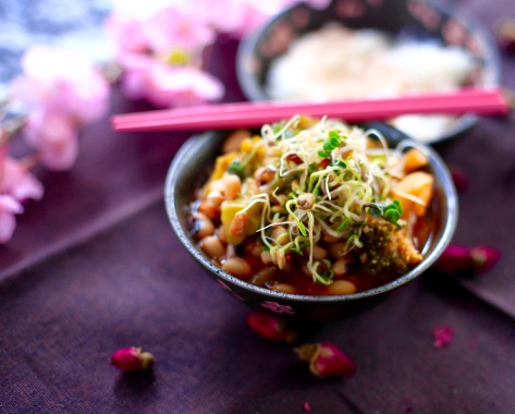 gochujang stew vegan rezept