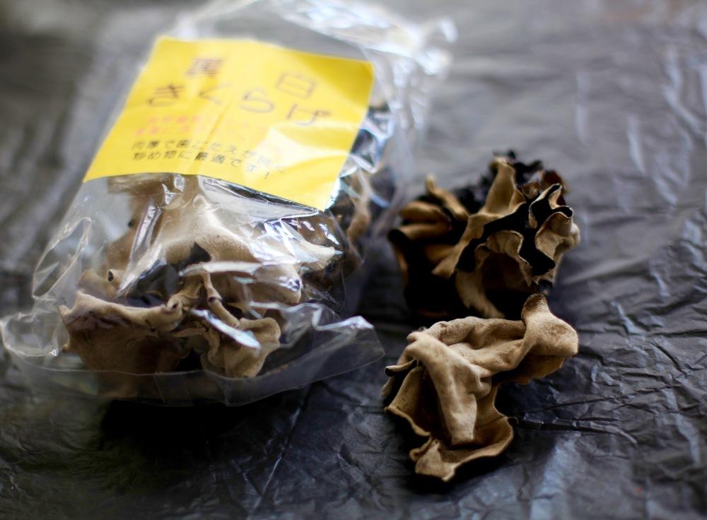 hoio pilze schwarz weiss vegane pho