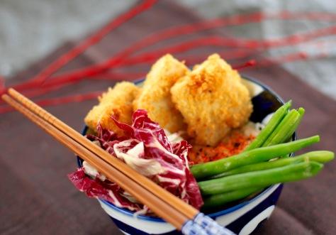 Katsu Tofu vegan rezept