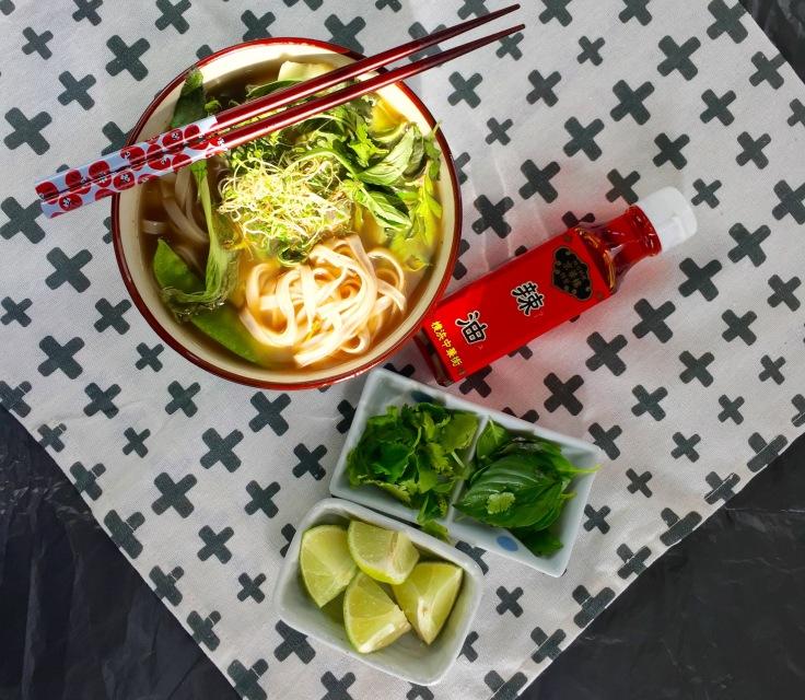 pho suppe vegan kochen