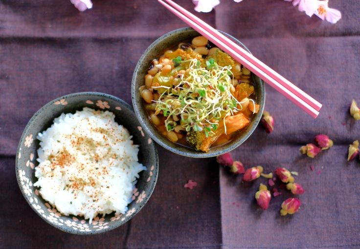 vegan kochen gochujang stew