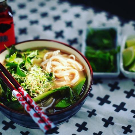 vegane pho suppe kochen rezept