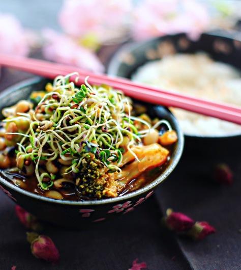 veganer gochujang eintopf rezept