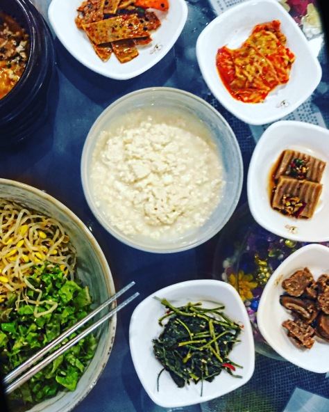 vegan bibimbap korea foodblog reise