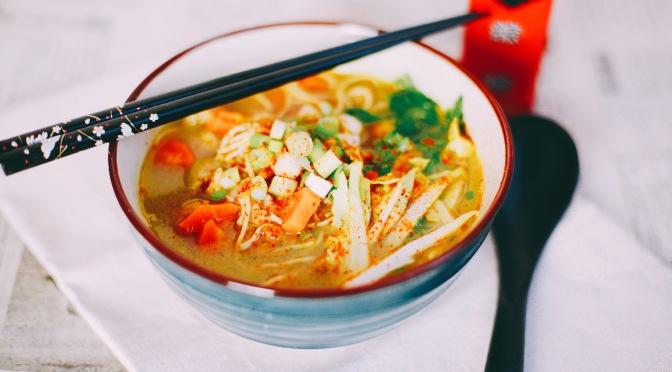 Vegan Chicken Ramen | Vegane Asiatische Hühnersuppe