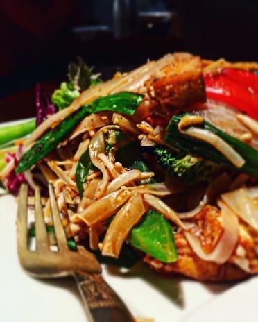 Veganes Pad Thai mit westlicher Note