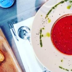 Frisch & fruchtig - Tomatensuppe!
