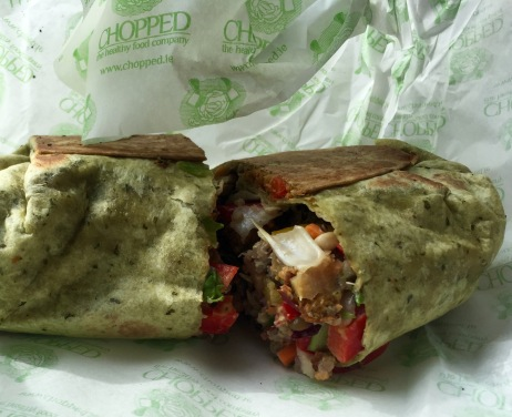vegan wrap chopped dublin