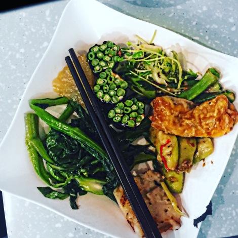hong kong travel trip vegan reise