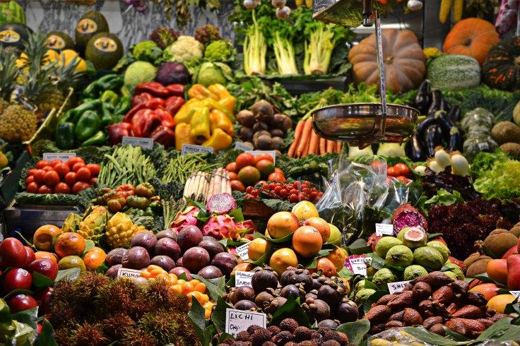 wochenmarkt vegan leben