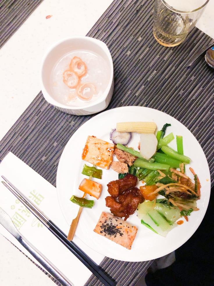 taipei vegan buffet zhongshan