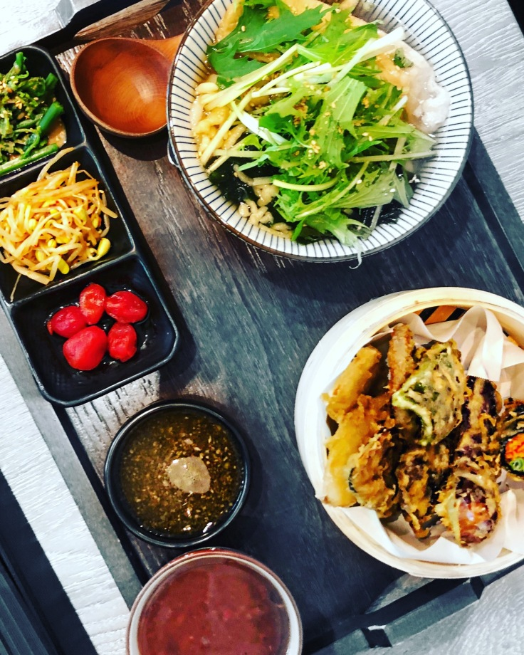vegan set lunch japanese taipei