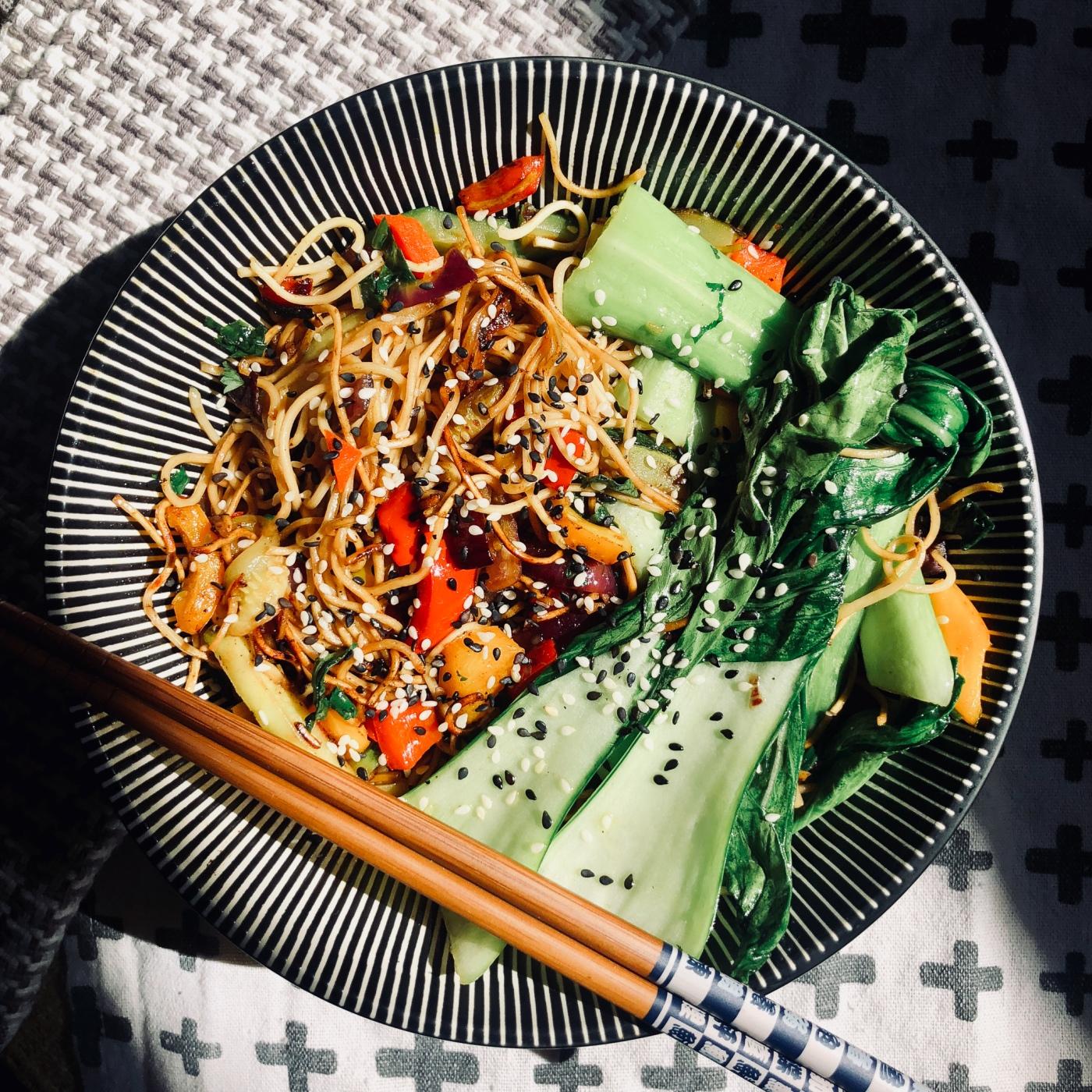 Pak Choi vegetarisch Rezept